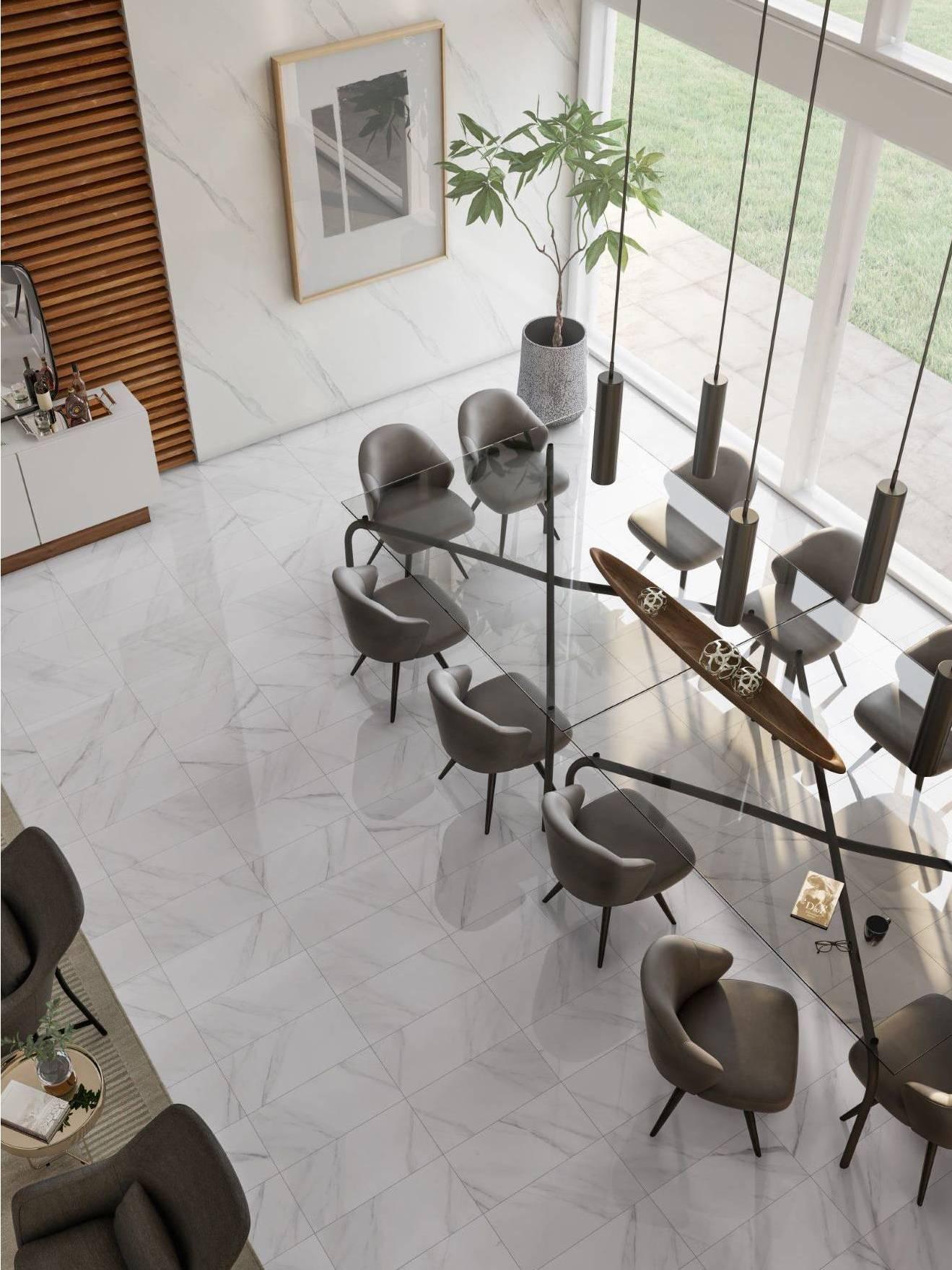 Bianco Carrara/Matte - 10083333
